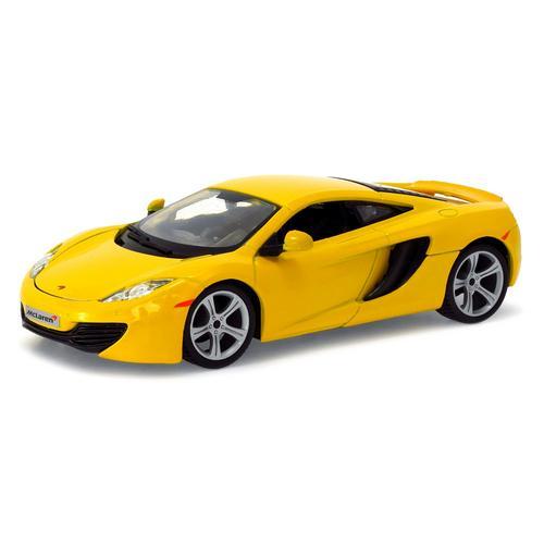 Carrinho Mclaren Mp4-12c 1:24 Amarelo Bburago
