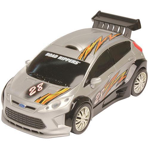 Carrinho Road Ripers Hatchbacks Fiesta-prata 3461 Dtc