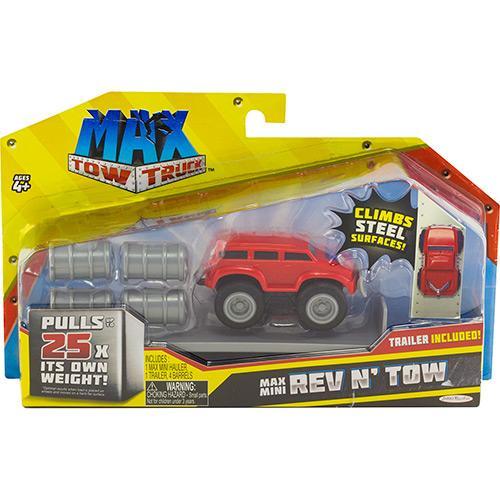 Caminhão Mini Max Tow Reboque Barris 3678 Dtc