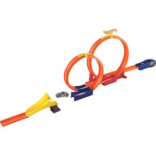 Pista Super Loop Hot Wheels Cdm41 Mattel