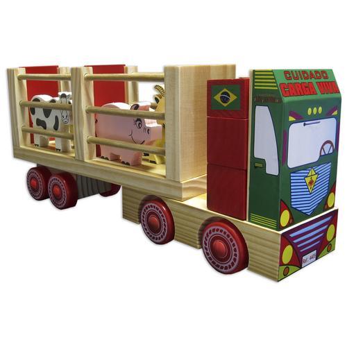 Caminhão de Madeira da Fazendinha 4405 Carimbras