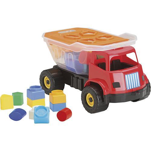Caminhão Dino Sabidinho 1007 Brinquedos Cardoso