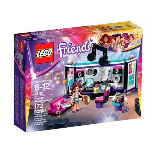 Lego Friends o Estúdio de Gravação da Pop Star 41103
