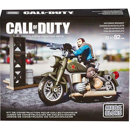 Mattel Mega Bloks Call Of Duty Fuga em Motocicleta