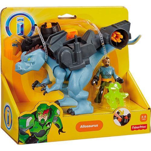 Figura Imaginext Dinotech Dinos Médios Allossauro Mattel
