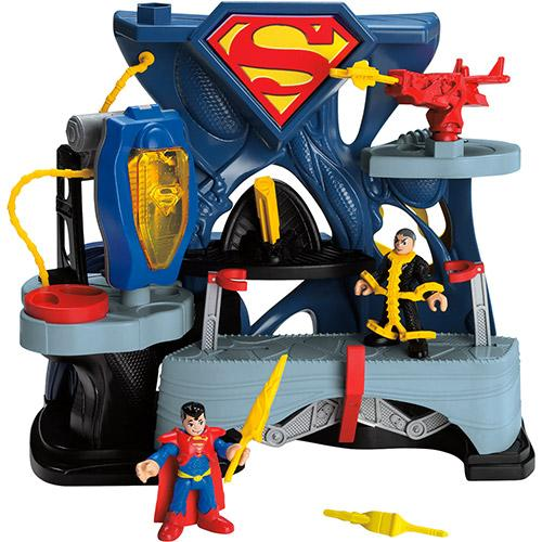 Boneco Fortaleza do Superman Imaginext Mattel