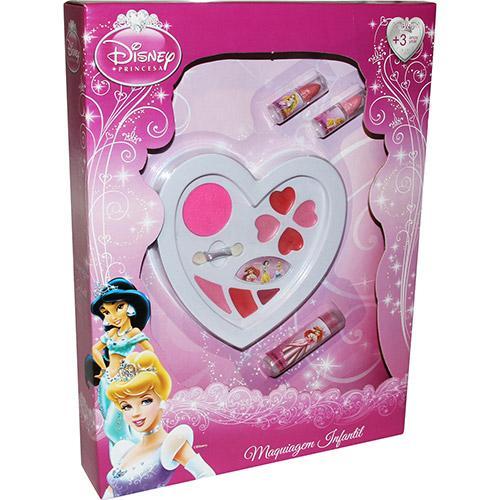 Maquiagem Coração Princesas 3529 Toyng