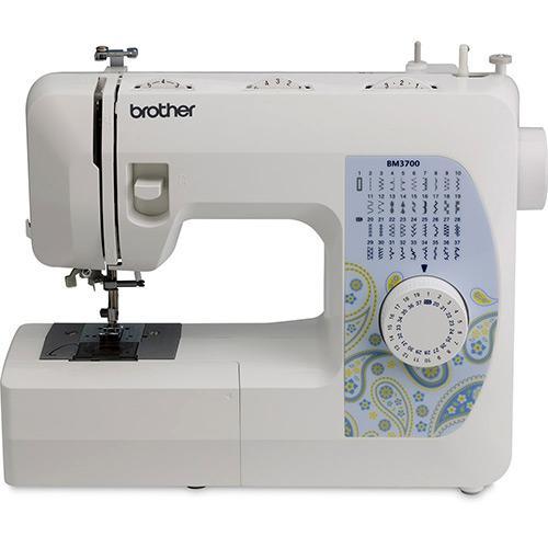 Máquina de Costura Brother Compacta Bm3700 37 Pontos Branco - 110v