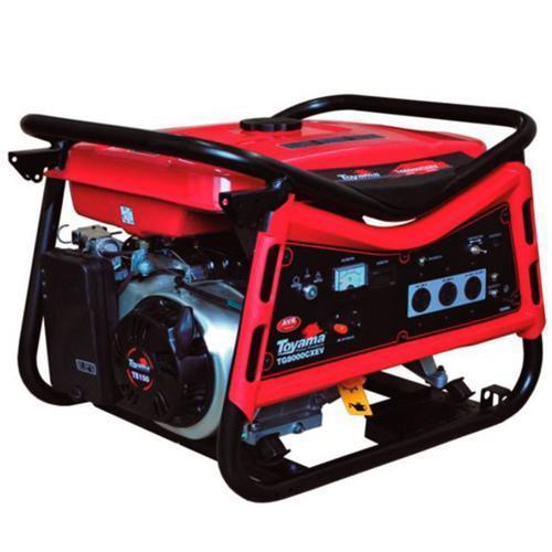 Gerador de Energia Gasolina 6800w Toyama Monofásico Bivolt - Tg8000cxev