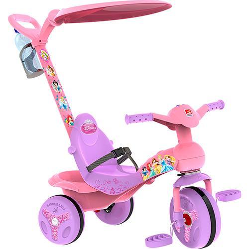 Triciclo Princesas Disney Rosa Bandeirante