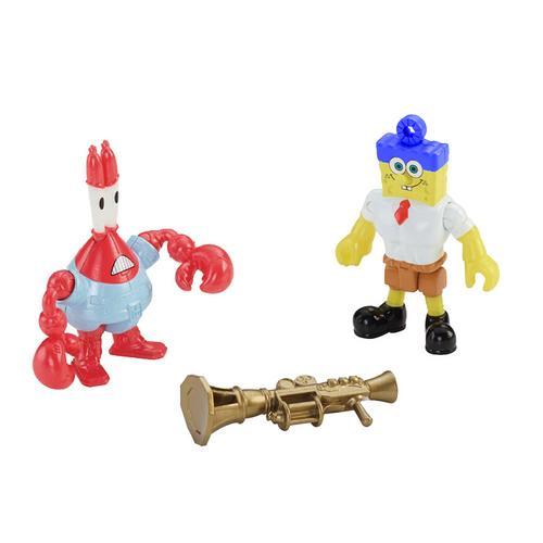 Boneco Bob Esponja e Sirigueijo Bob Esponja: um Herói Fora da Água Fisher Price