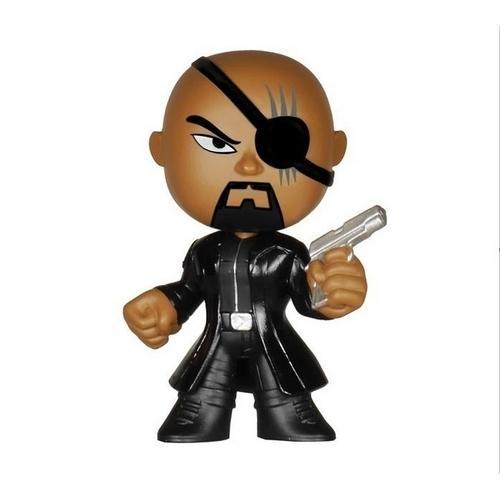 Boneco Nick Fury Vingadores Era de Ultron Mystery Minis Funko