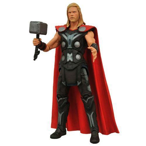 Boneco Thor Action Figure Avengers Age Of Ultron Diamond Select