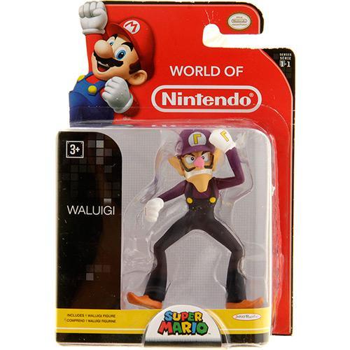 Boneco World Of Nintendo Waluigi Dtc