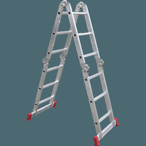 Escada de Alumínio Multifuncional 3x4 12 Degraus Esc0393 Botafogo