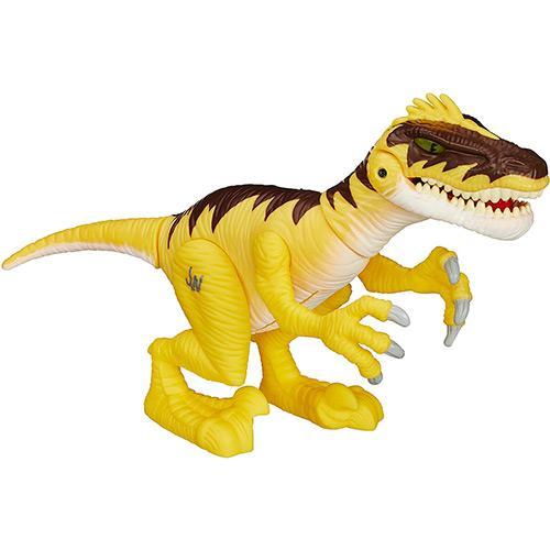 Boneco Jurassic Park Velociraptor Com Sons Hasbro