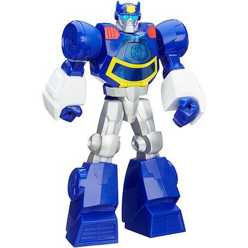 Boneco Playskool-transformers Rescue Bots Chase The Police Hasbro