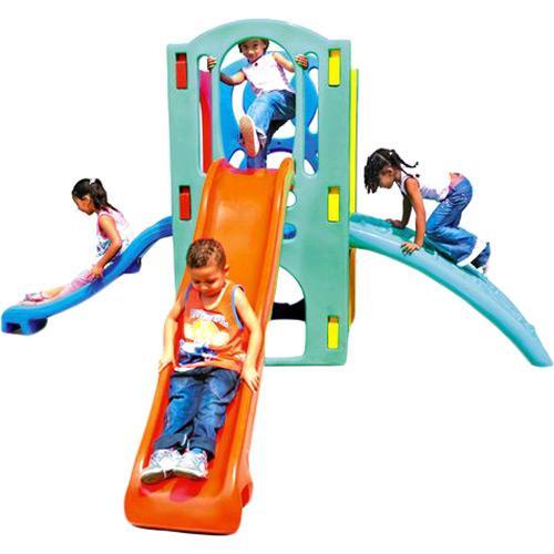 Playground Super Com Escalada Mundo Azul 50022
