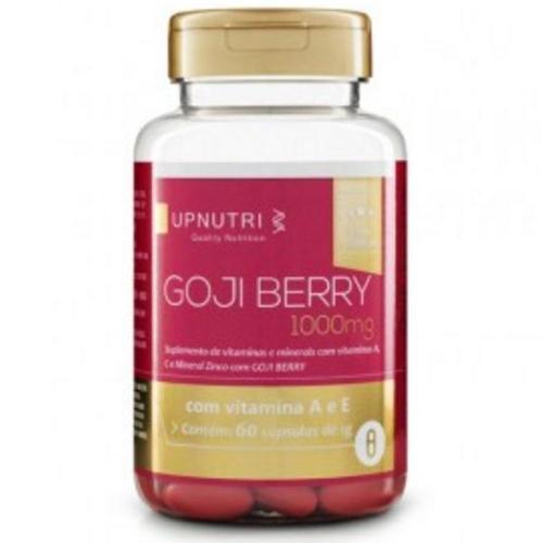 Upnutri Gojiberry Com Vitaminas A, C e Zinco - 60 Cápsulas de 1000mg