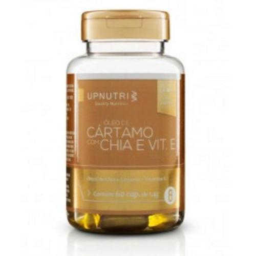 Upnutri Óleo de Cártamo, Chia e Vitamina e 60 Cápsulas