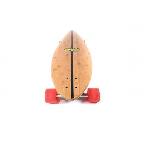 Skate Longboard - Bambu Madeira Two Dogs