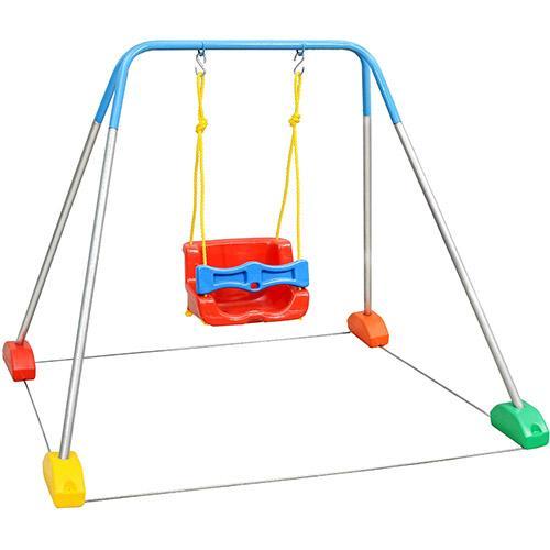 Balanço Jundplay Balanço Com Estrutura Azul 3100