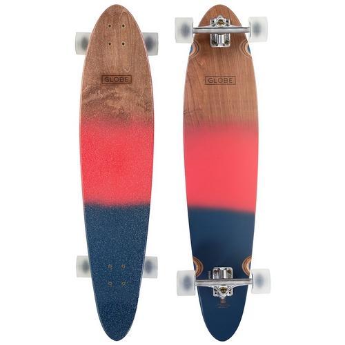 Skate Longboard Prancha - Pionner Navy Vermelho Globe