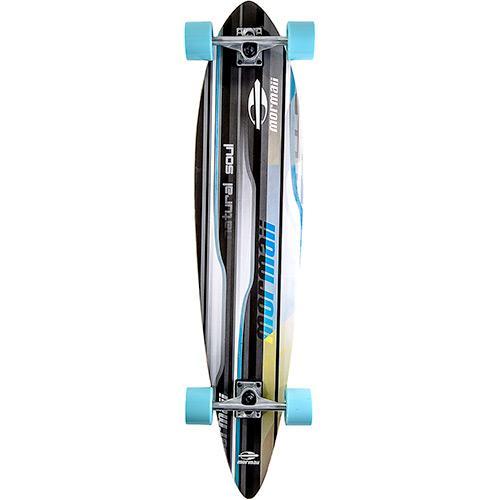 Skate 498700 Longboard Prancha - Breeze Mormaii Colorido Bel Sports