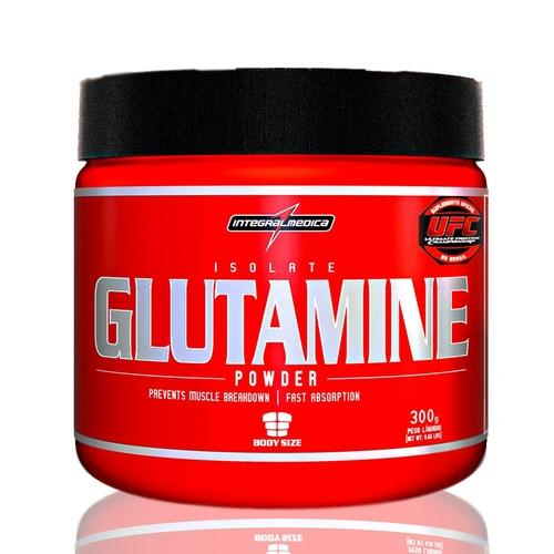 Isolate Glutamine - 300g Integralmedica