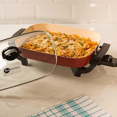 Panela Elétrica Fun Kitchen Ceramic Master 110v