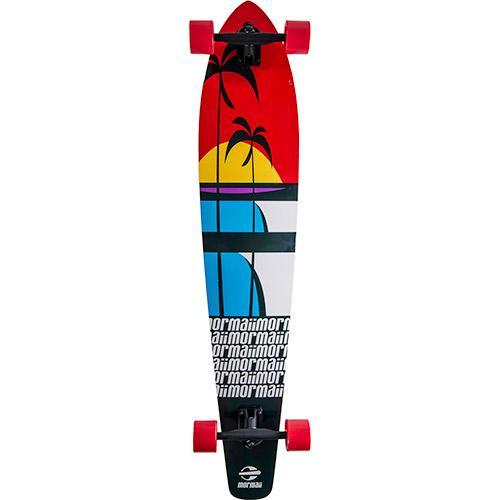 Skate 499500 Longboard - Mormaii Preto/vermelho Bel Sports