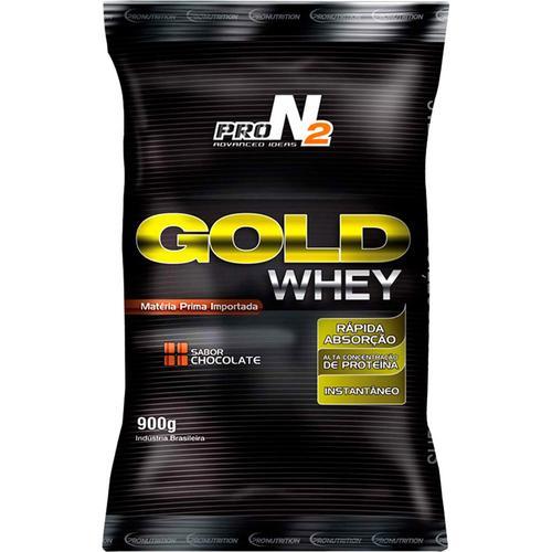 Gold Whey 900g Chocolate - Refil Pron2