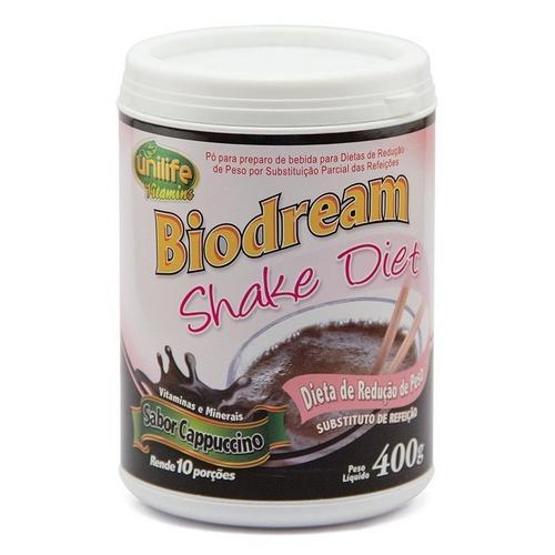 Unilife Biodream Shake Diet 400g Baunilha