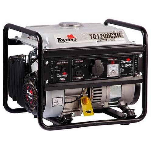 Gerador de Energia Gasolina 1200w Toyama Monofásico 220v - Tg1200cxh