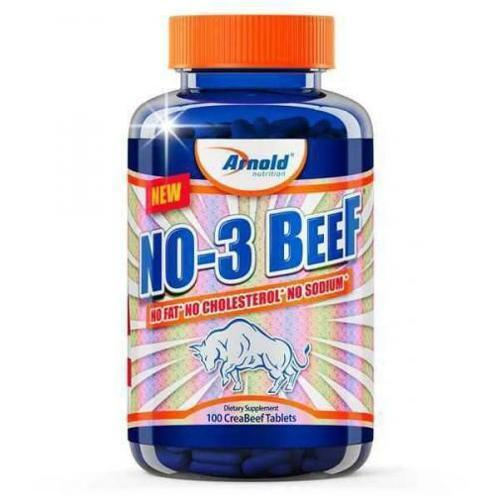 No-3 Beef - 100 Tabletes Arnold Nutrition