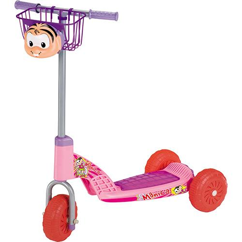 Patinete Magic Toys Mônica Rosa/lilás 4516
