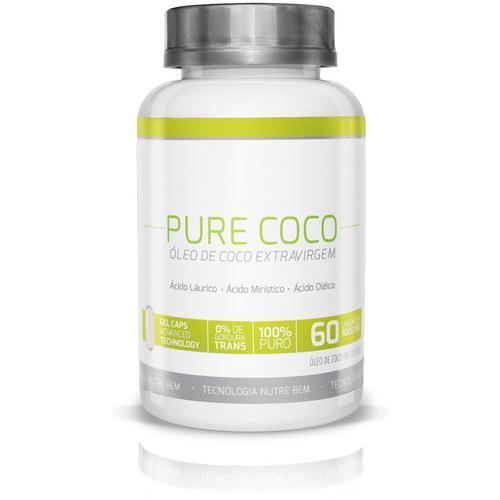Rede do Bem Pure Coco 60 Cápsulas