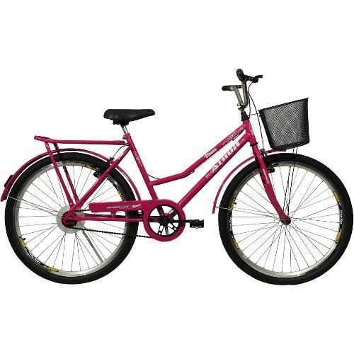 Bicicleta Athor Bike Vênus Aro 26 Rígida 1 Marcha - Rosa
