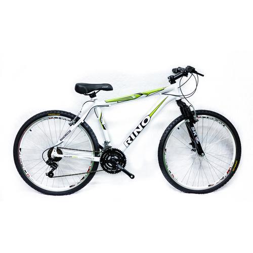 Bicicleta Rino Atacama 2.0 T19 Aro 26 Susp. Dianteira 21 Marchas - Branco