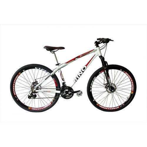 Bicicleta Rino Atacama 2.0 T19 Aro 26 Susp. Dianteira 21 Marchas - Preto/verde