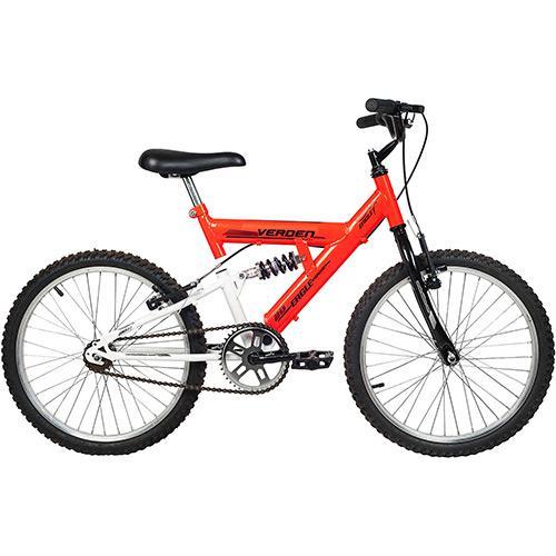Bicicleta Verden Eagle Aro 20 Full Suspensão 1 Marcha - Laranja