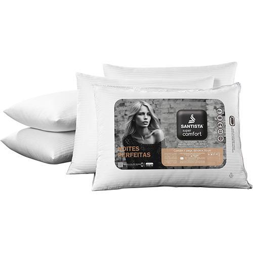 Travesseiro Santista Super Comfort 100% Algodão 50x70cm