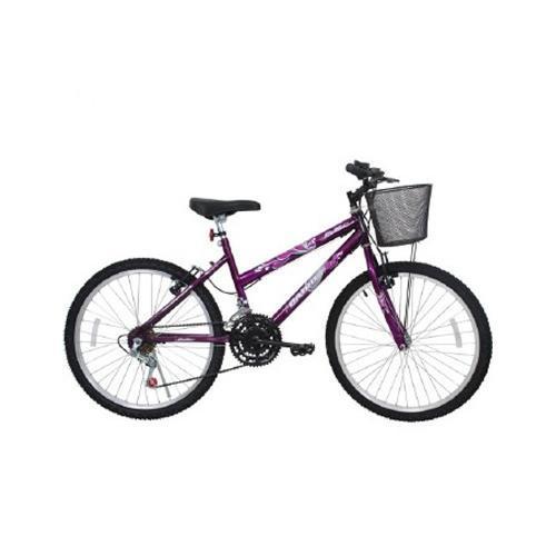 Bicicleta Cairu Bella Aro 24 Rígida 21 Marchas - Roxo