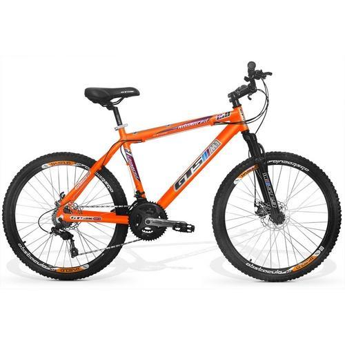 Bicicleta Gts M1 Advanced 2.0 T19 Aro 26 Susp. Dianteira 21 Marchas - Branco