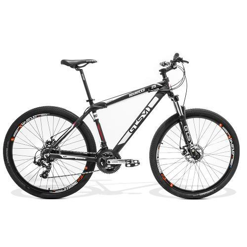 Bicicleta Gts M1 Advanced New T19 Aro 29 Susp. Dianteira 24 Marchas - Preto