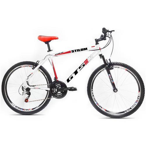 Bicicleta Gts M1 Stilom 2.0 Vb T19 Aro 26 Susp. Dianteira 21 Marchas - Amarelo