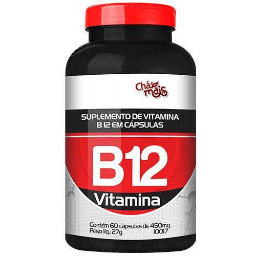 Chá Mais Vitamina B12 60 Cápsulas