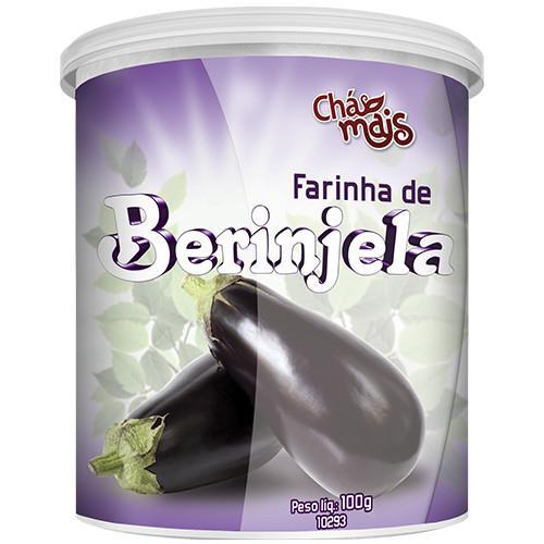 Chá Mais Farinha de Berinjela 100g