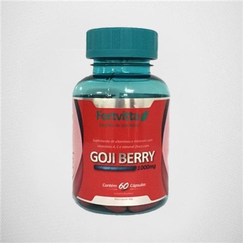 Fortvitta Goji Berry 60 Cápsulas