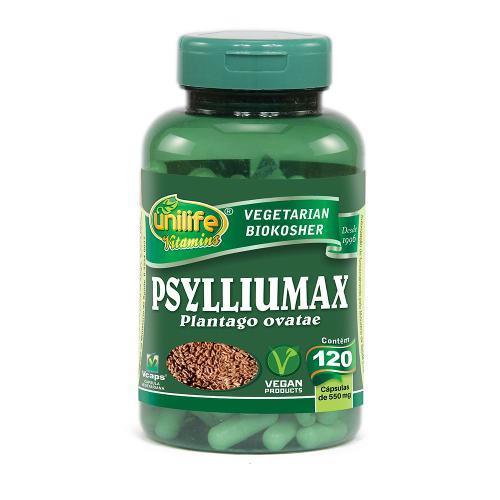 Unilife Psylliumax 120 Cápsulas
